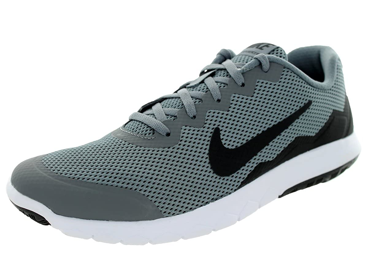 Nike Men s Flex Experience RN Cool Grey Black Black Running Shoe, 7.5 D M US