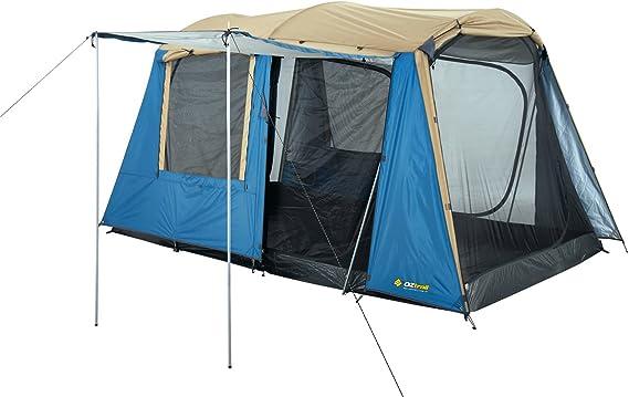 Oztrail Tienda de Campaña con Cúpula Sundowner (6 Personas) con Paredes Verticales 220x360x200cm, 11kg con Dos Habitaciones DTC-Sun-D: Amazon.es: Deportes y aire libre