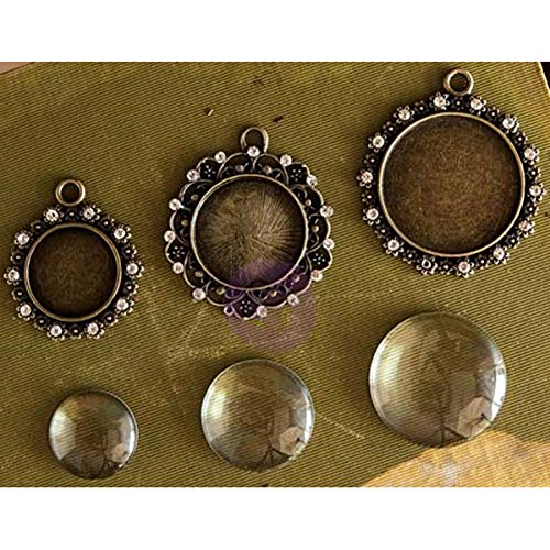 Anderen Unbekannt Prima marketingprima Marketing Memory Hardware Embellishments-bourdeilles Trinkets Antik Gold Mehrfarbig
