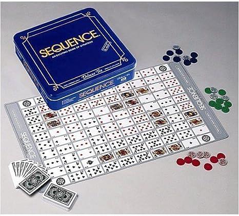 Jax Sequence Game, Deluxe Sequence Tin: Amazon.es: Juguetes y juegos
