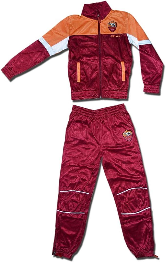 AS Roma Tuta Acetato Bambino R13192-R13263 Abbigliamento sportivo ...