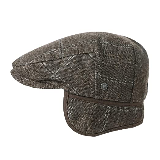 833dd221 Siggi Wool Tweed Flat Cap Ivy Hat with Ear Flaps Warmer Winter Earflap  Hunting Trapper Hat for Men: Amazon.co.uk: Clothing