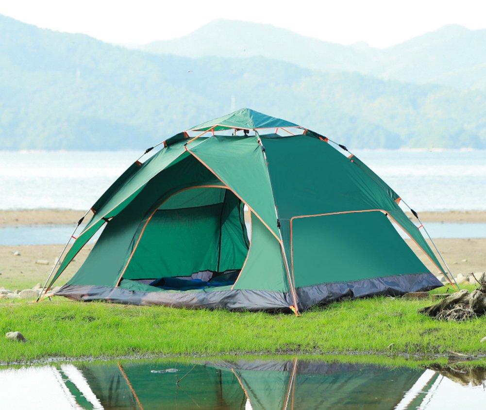 Jiangu, Camping Zelten, voll Automatische Zelte, Outdoor-Familie Camping Zelte, Outdoor Camping Zelten