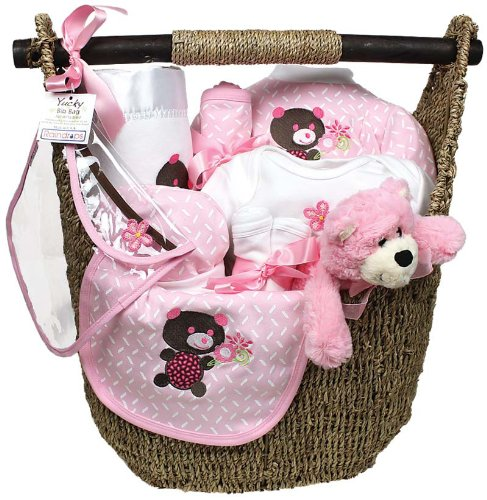 Raindrops Welcome Home 13 Piece Gift Set, Pink, 3-6 Months