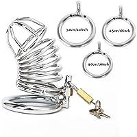 LuckyTracker Dispositivos de castidad de acero inoxidable
