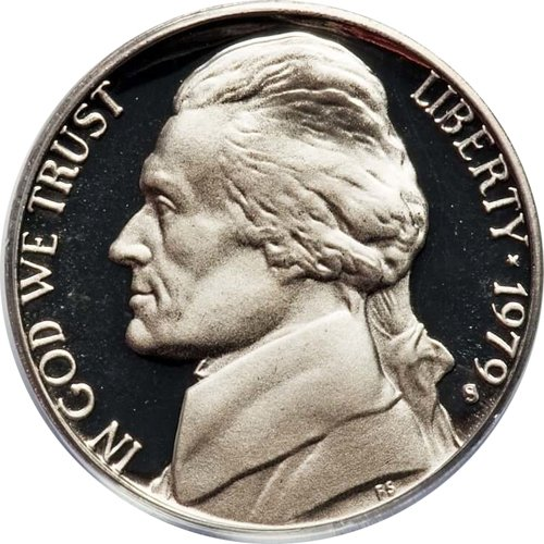 1979 S Proof Clad Jefferson Nickel PF1
