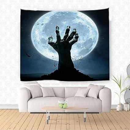 Amazon Com Nalahome En Decorations Zombie Hand Earth Soil Full Moon