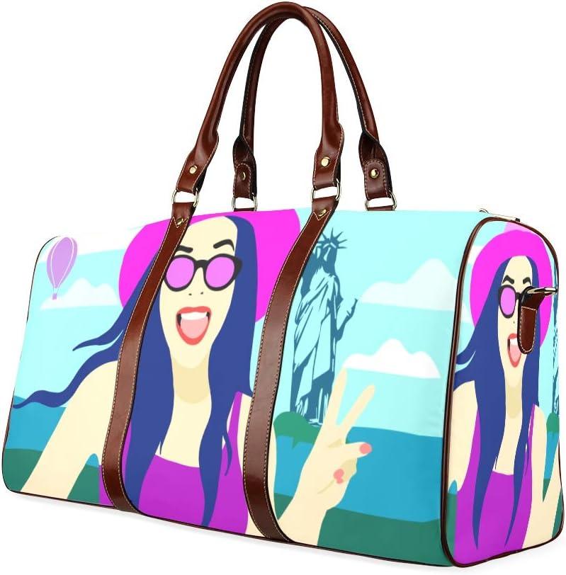 Fashion Handbags For Women Particluar Glasses Young Girls Waterproof Microfiber Leather Carryon Bag Womans Weedend Bag Large Weekender Tote Bag Unusual Handbags Womans Tool Bag