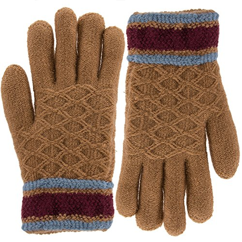 Classic Fashion Womens Winter Gloves For Cold Weather, Ladies Soft Warm ()