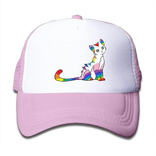 de7550086c6ea Rainbow Cat Hat One Size Running Cap Sanpback CapRunning Cap Trucker ...