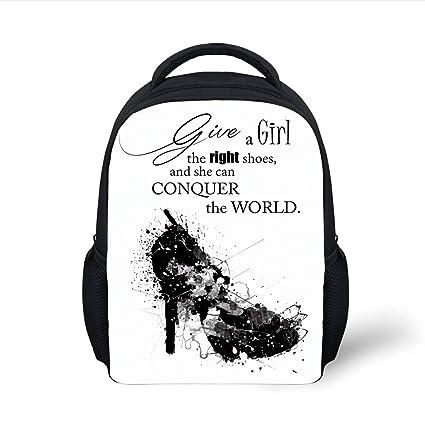 Amazon.com  iPrint Kids School Backpack Quote e2d5126573670
