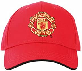 Official Football Merch Adult Manchester United FC core cap(Red) 5d675c4c8