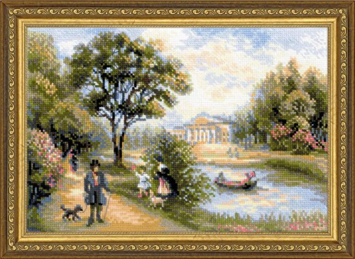 - RIOLIS 1527 - Walk in the Park - Counted Cross Stitch Kit 15