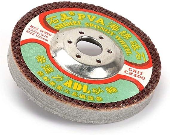 "5Pcs 4/"" 220Grit Marble Polishing Wheel Sanding Abrasive Disc Electric Grinder"