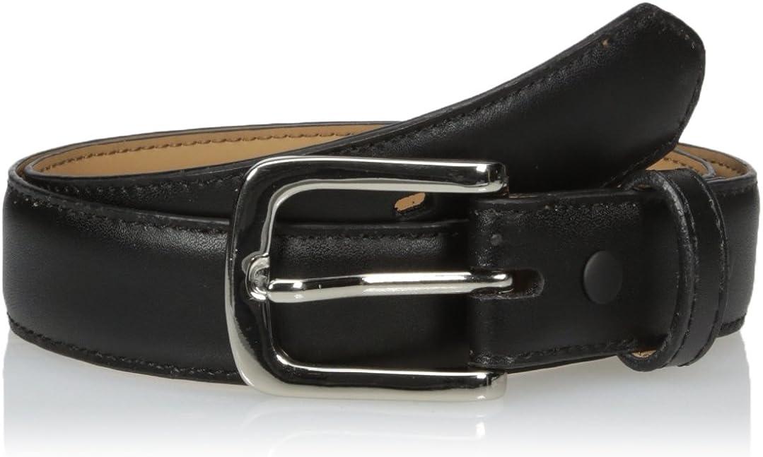 Nocona Mens Black Dress Buckle Belt