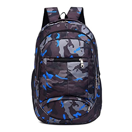 Amazon Com Liping Camouflage Printing Teenage Girls Boys Backpack