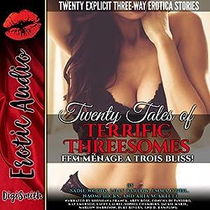 Twenty Tales of Terrific Threesomes Audiobook