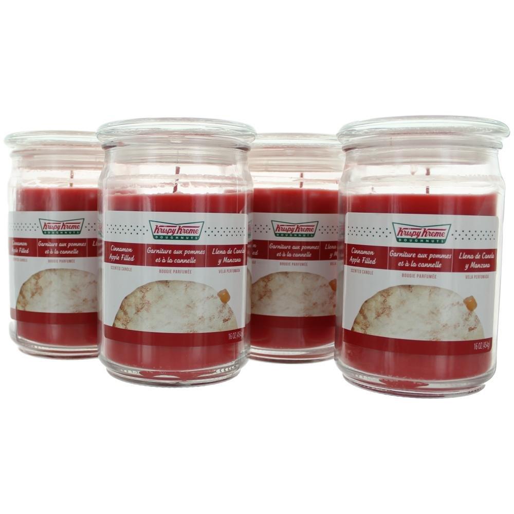 Amazon.com: Krispy Kreme Scented Jar Candle (16 oz) (Dulce De Leche): Home & Kitchen