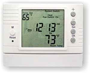 Azel D-502F: PROGRAMMABLE DIGITAL THERMOSTAT FOR HYDRONIC RADIANT FLOOR HEATING