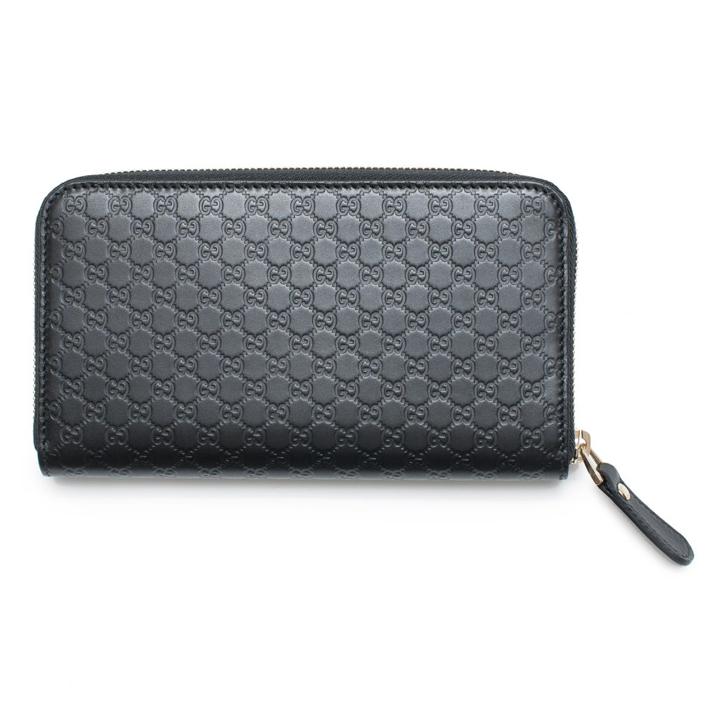 8d870fff7702 Amazon.com: Gucci Wallet Microguccissima Leather Continental Zip Around Wallet  Black Italy New: Shoes