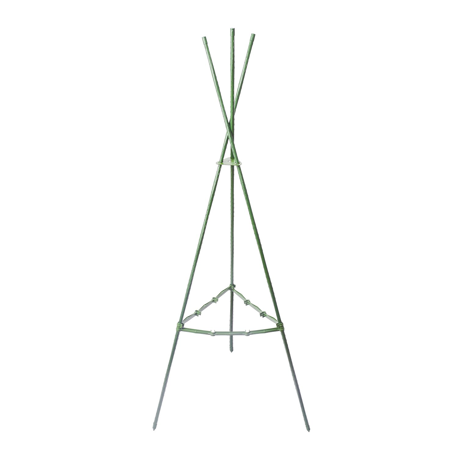 Funseedrr Tomato Cages Triangular Plant support Heavy Duty, 47.24 inch