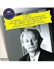 Beethoven : Piano Sonatas No. 8, Op.13 Pathétique / No. 14, Op. 27/2, Mondschein, Moonlight / No. 21, Op. 53, Waldstein / No. 23, Op. 57, Appassionata