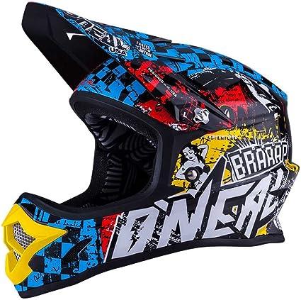 Gr/ö/ße 63-64cm XXL ONEAL 3 Series Rancid Motocross Enduro MTB Helm schwarz//Multi 2018 Oneal