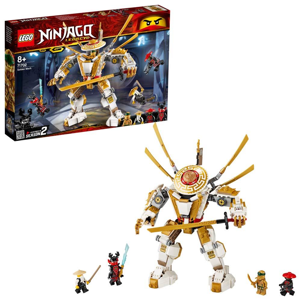 レゴ(LEGO) ニンジャゴー 黄金ロボ 71702