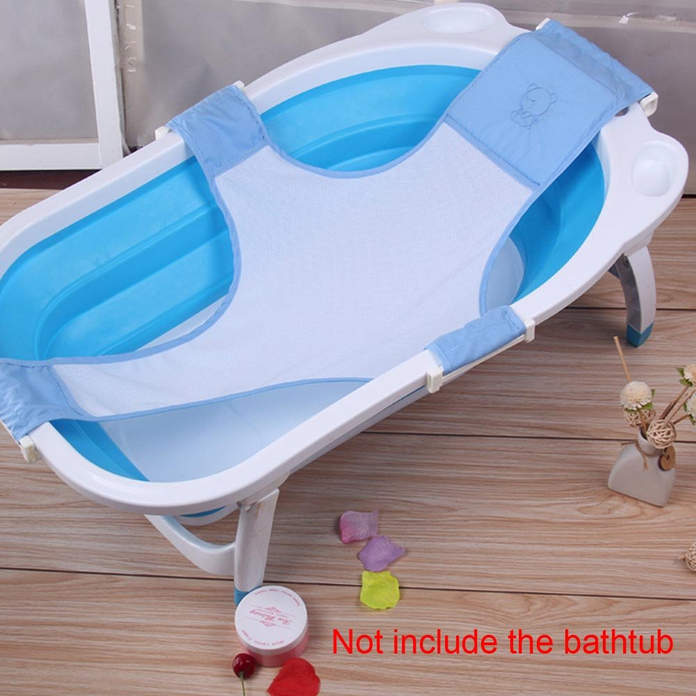 Amazon.com : Your Supermart Baby Bath Mesh Seat Support Sling Net ...