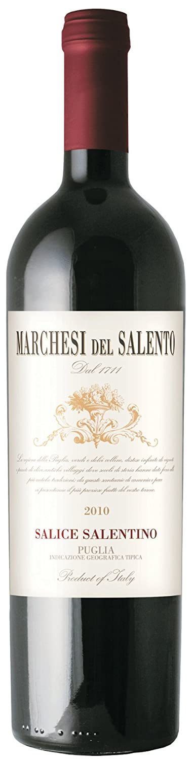 Marchese del Salento Wine Salice Salentino, 750 mL at Amazons Wine Store