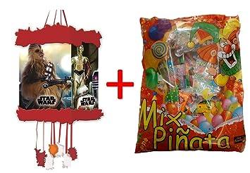 ALMACENESADAN 1162, piñata viñeta Star Wars 20x30 cm, con ...
