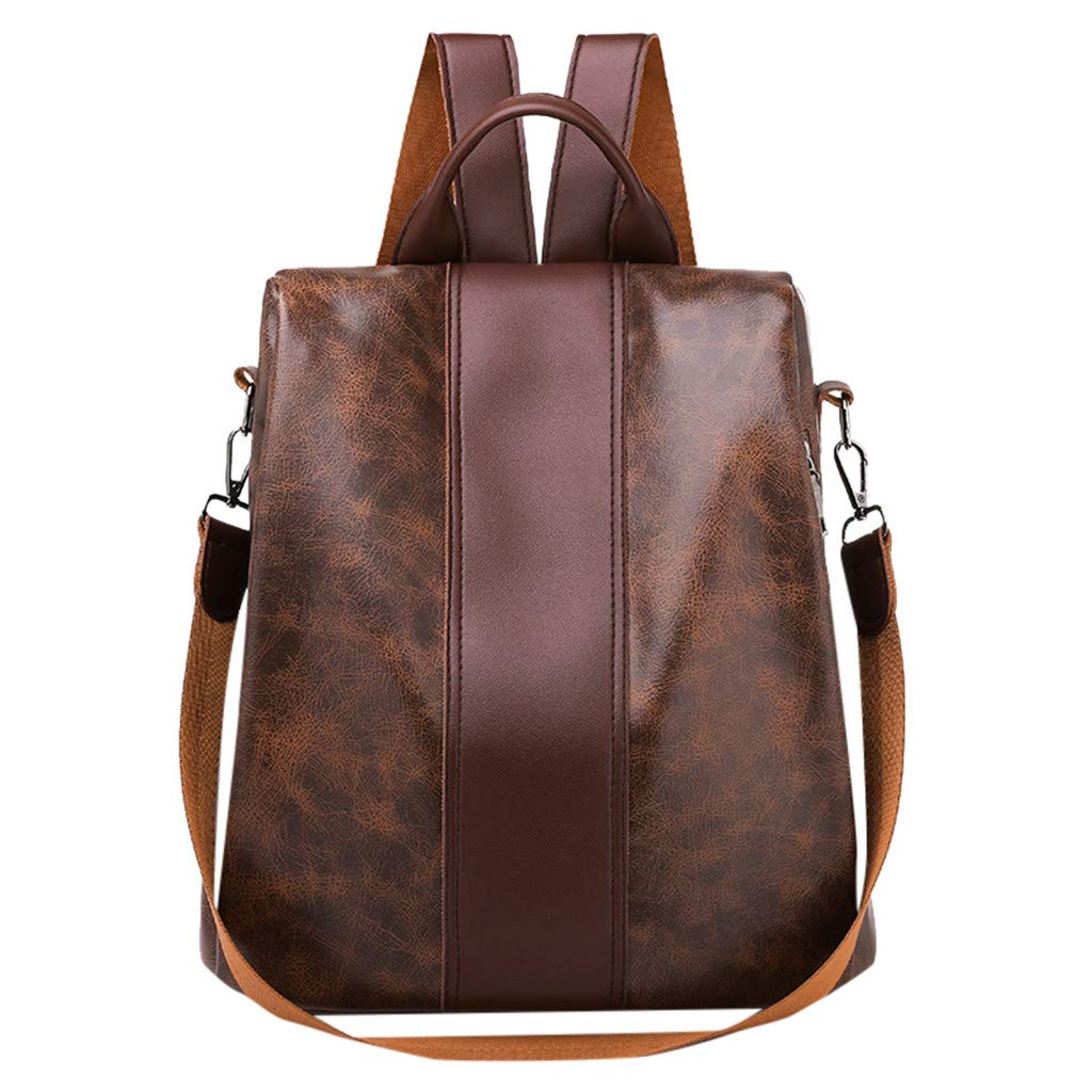 740aec600287 Amazon.com: Vielgluck_Bag Womens PU Leather Chain Backpack Purse ...