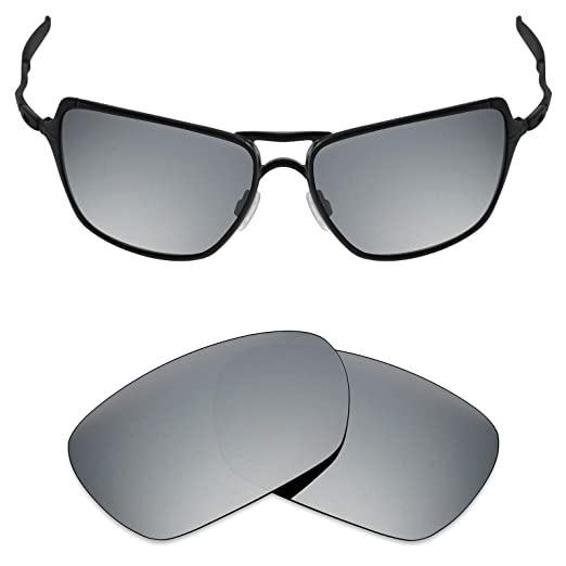 f37eae151d18f Mryok Polarized Replacement Lenses for Oakley Inmate - Silver Titanium