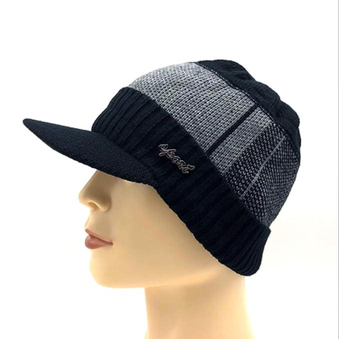 5e7adb166dda4 Moktasp 2019 New Winter Military Hats for Men Bone Baseball Cap ...