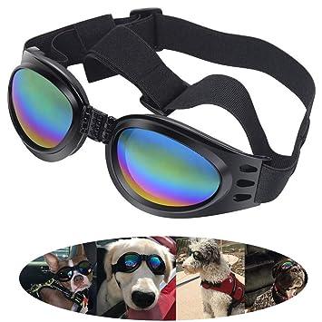 KAIMENG Gafas para Perros, Gafas para Mascotas Gafas de Sol ...
