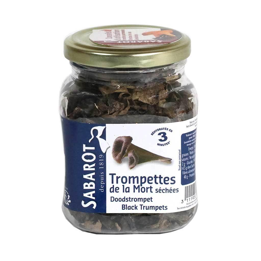 Sabarot - Dried Black Trumpets, 40g (1.4 oz)