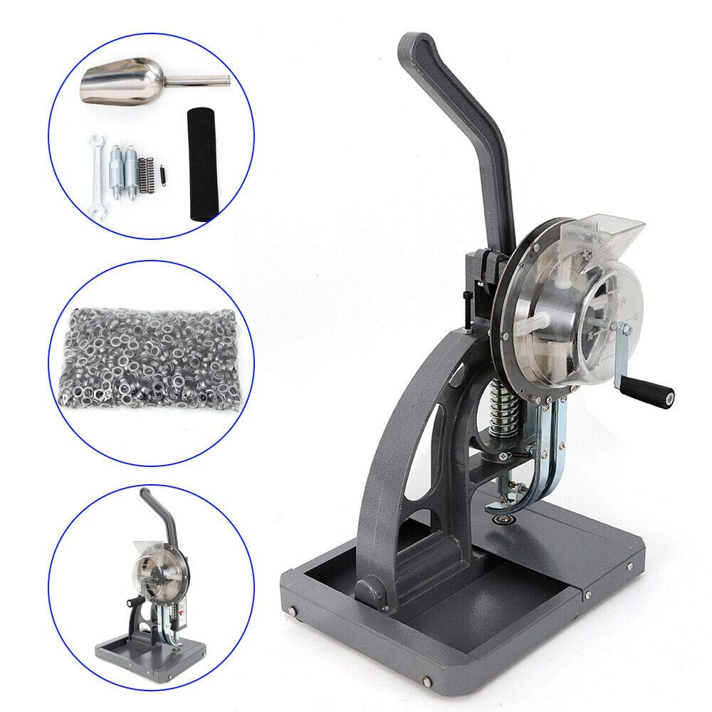 Amazon.com: VPABES Máquina semiautomática de hebilla ...