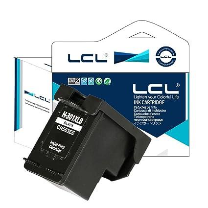 LCL (TM) - Cartucho de tinta HP 301 X L (1-Pack, Negro) compatible ...