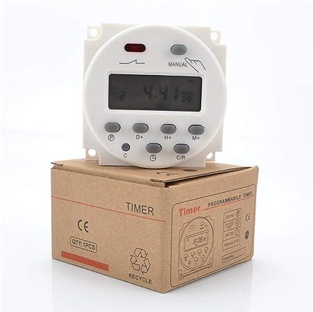 CN101A elais de commutation LCD d/'alimentation numérique Minuterie programmable