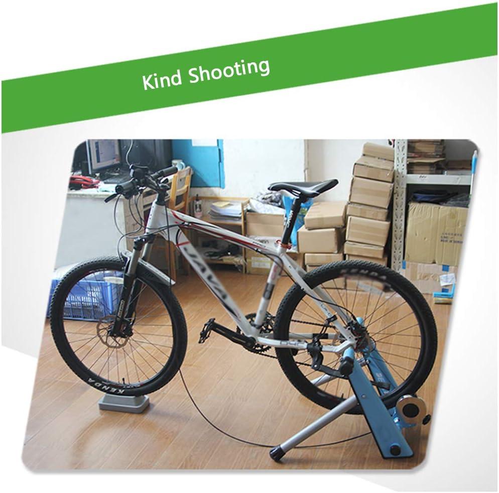 Magnética de bicicletas Trainer - Bicicleta plegable Rodillos bicicletas - bicicletas Turbo Trainer con alambre de control Ajustador - Reducción ruido, y para bicicletas carretera y de montaña,Azul: Amazon.es: Deportes y aire