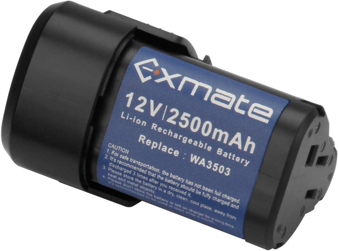 2x 3.0AH 12V Lithium Akku für Worx Worx WA3503 WX125 WX382.3 WX677 WX540 WX673