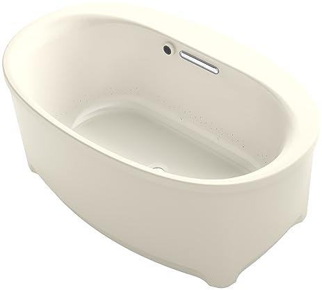 KOHLER K-5702-G-G9 Underscore Oval Freestanding Bubble Massage Air ...