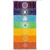 Amasawa 75cm*150cm Indiano Yoga Tapestry Chakra Yoga