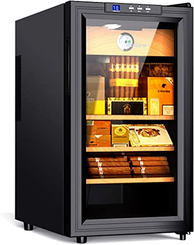 Audew-Cigar-Cooler-Humidor-Spanish-Cedar-Wood-300-Capacity