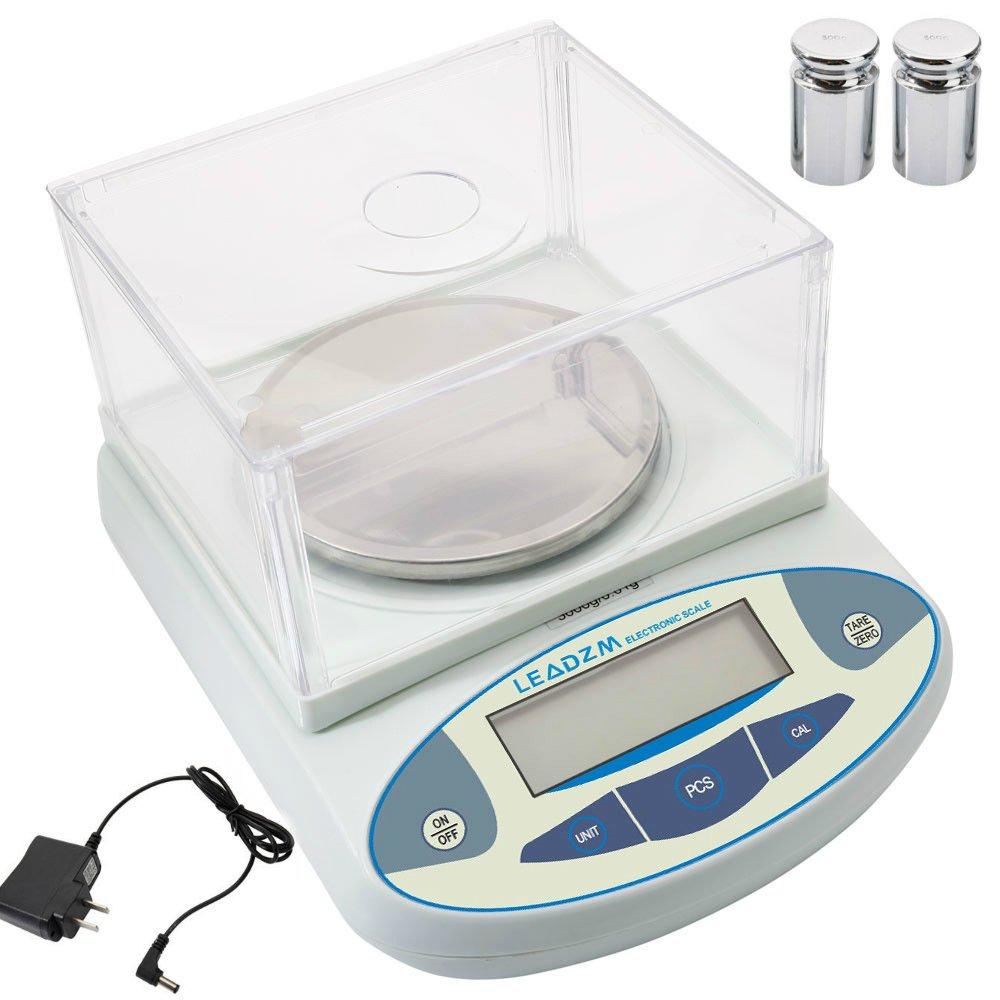 3000g x 0.01g Portable Electronic Balance Laboratory Analytical Balance Digital Electronic Scale | High Precision Good Performance Lab Scale