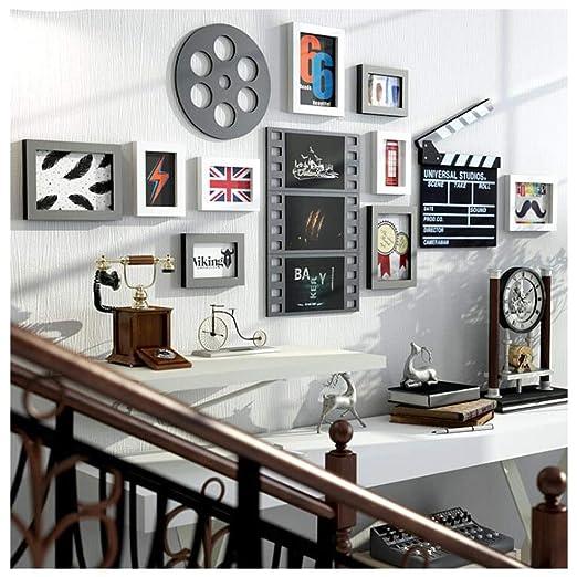 Marcos de fotos de madera grandes, 9 piezas / set Pintura en ...
