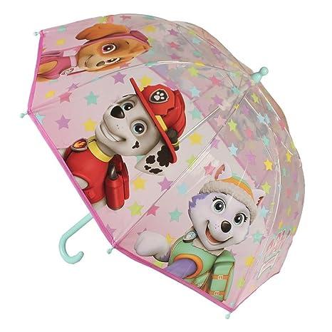 Paraguas infantil burbuja Paw Patrol