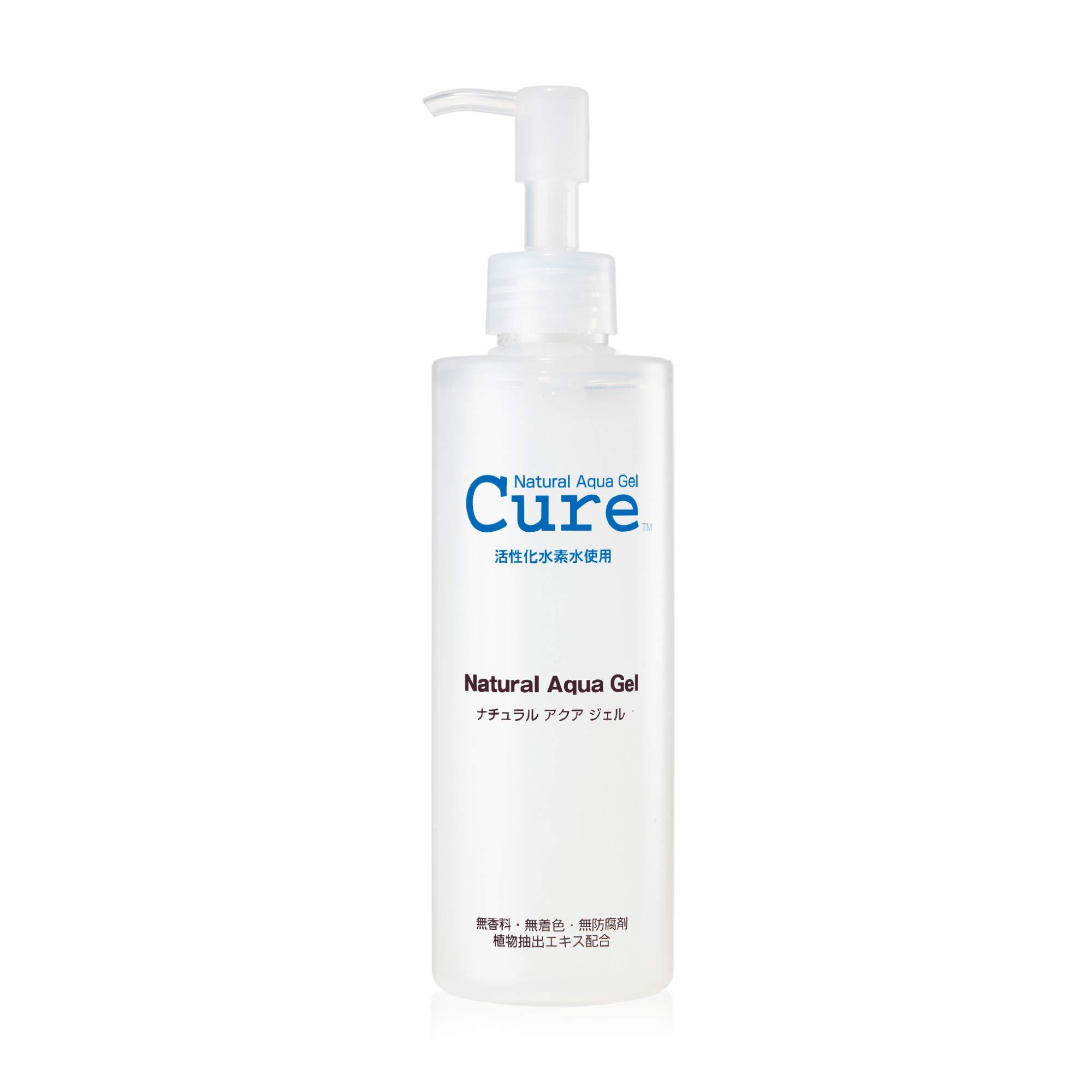 TOYO - CURE: Natural Aqua Gel, Water Skin Exfoliator for All Skin Types (8.5 oz - 1 Pack)