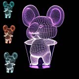SUPERNIUDB 3D Night Light Animal Koala 3D LED USB 7 Color Change LED Table Lamp Xmas Toy Gift