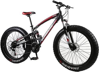 XIAOFEI 4.0 Fat Bike Mountain Bike Doble Freno De Disco Playa ...